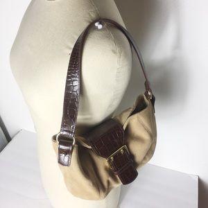 Lauren Ralph Lauren Brown Chic Shoulder Bag